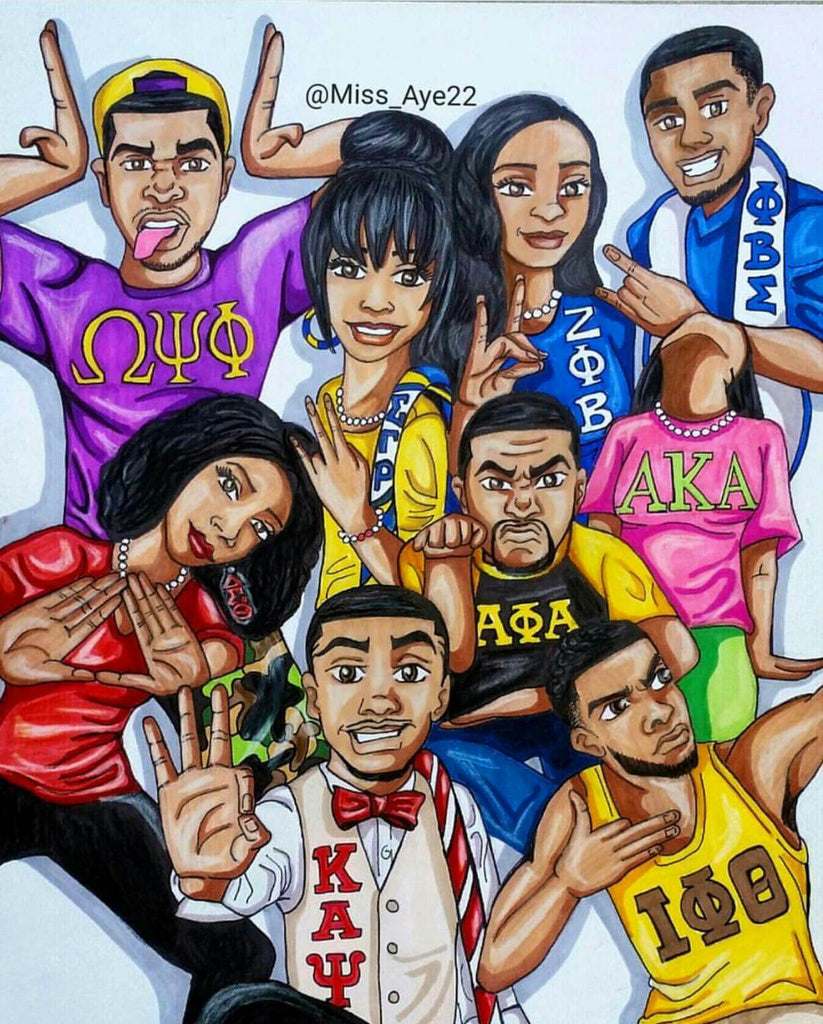 The Devine 9 Greek Letter Organizations