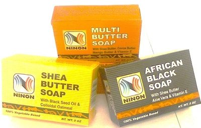 African Soaps Body Washes and Shampoo