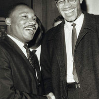 The Meeting Malcolm X and Martin Luther King Jr
