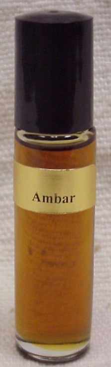 Amber :Fragrance(Perfume) Body Oil ( U ) 1/3 oz