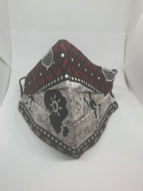 African Warrior MaskCoronavirus Protection Face Mask