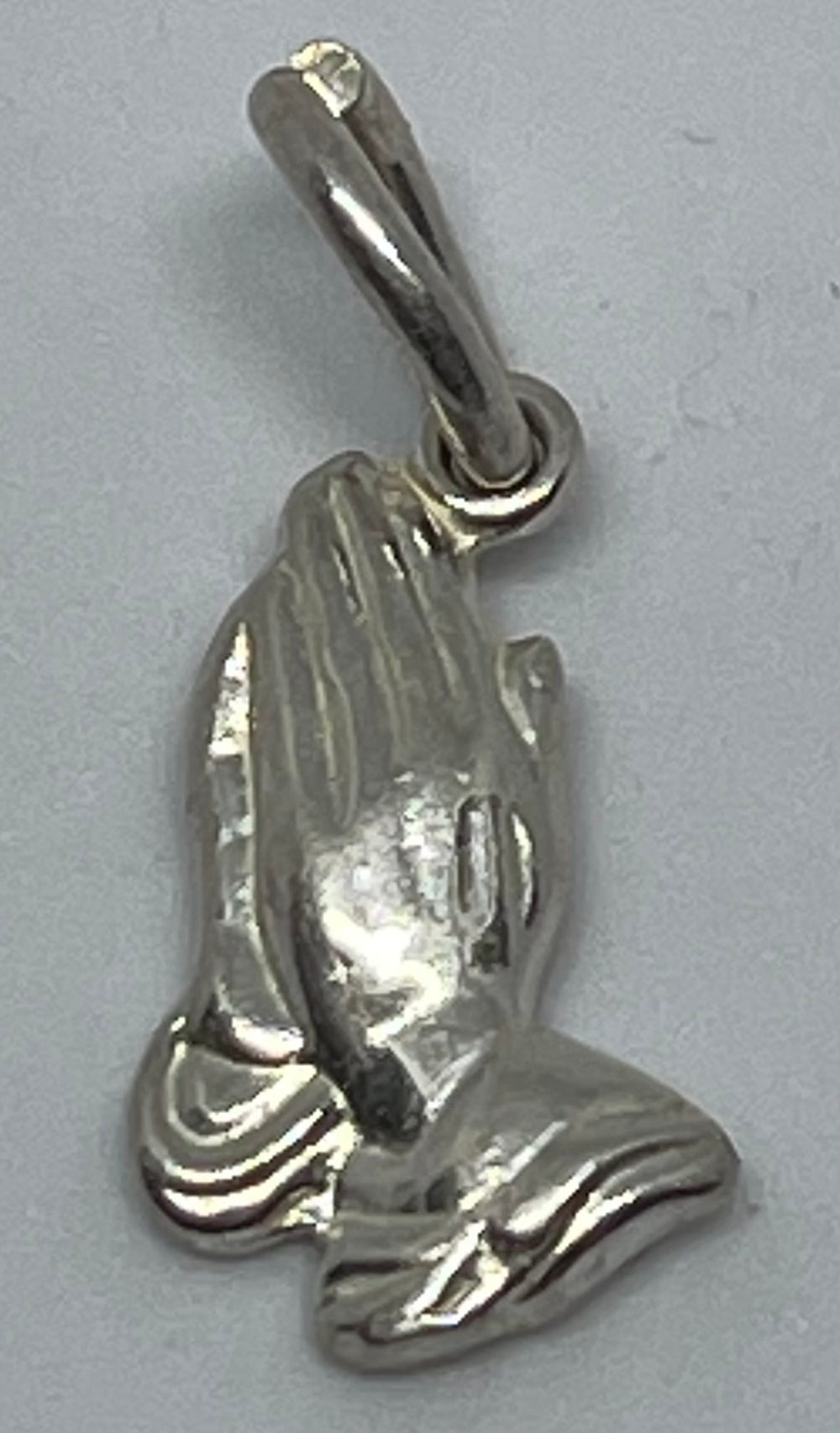 Small Praying Hands  Charm Pendant