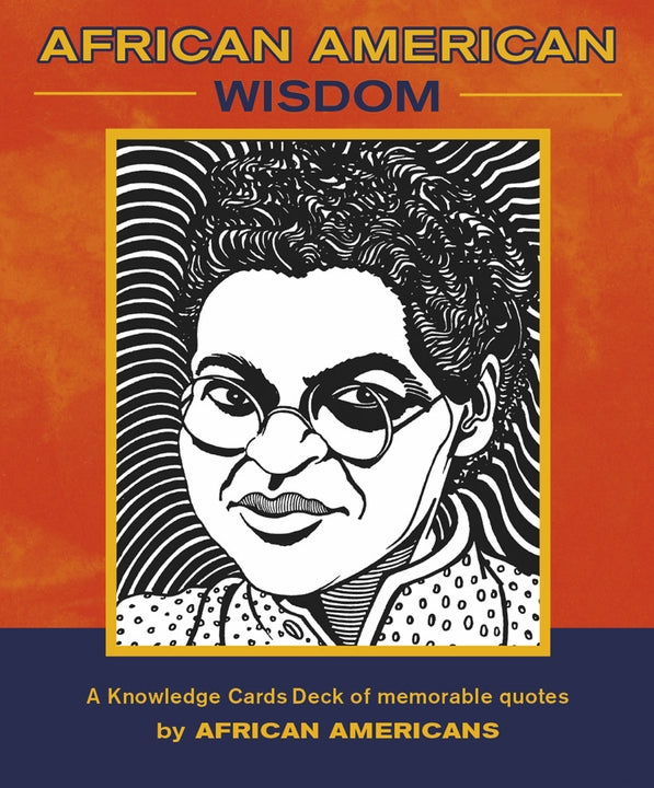 African American Wisdom Knowledge Card