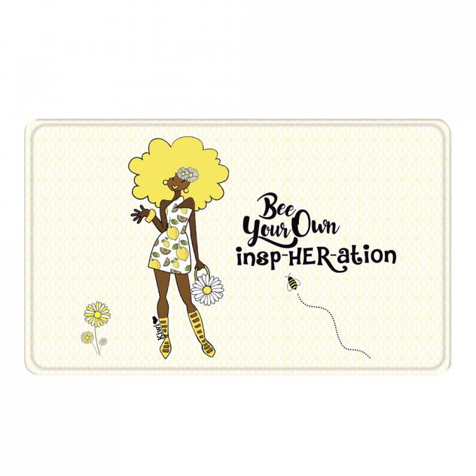 Be Your Own InspHER-ation! Memory Foam Bath Mat