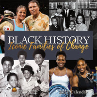 Black History- Iconic Families of Change  Wall Calendar