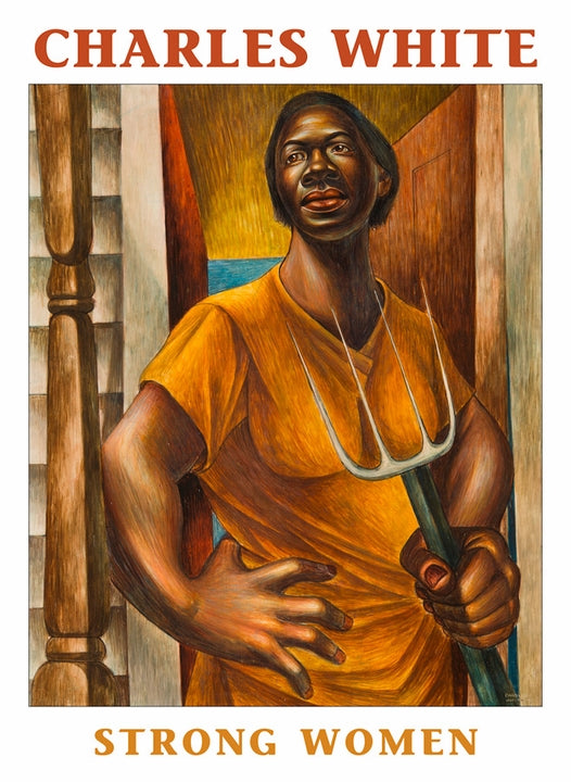 CHARLES WHITE:STRONG WOMEN BOXED NOTECARD