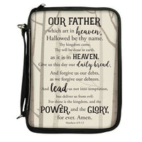 The Lords Prayer Bible Organizer and  Cover