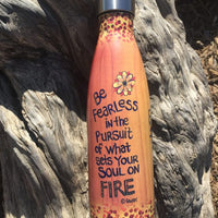 Soul On Fire Stainless Steel Bottle