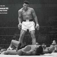 Ali Liston Fight 24 x 34 Art Print