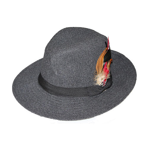 Grey Fedora Godfather