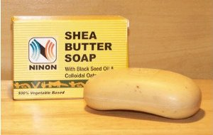 Ninon Shea Butter Soap With Black Seed Oil&Oatmeal