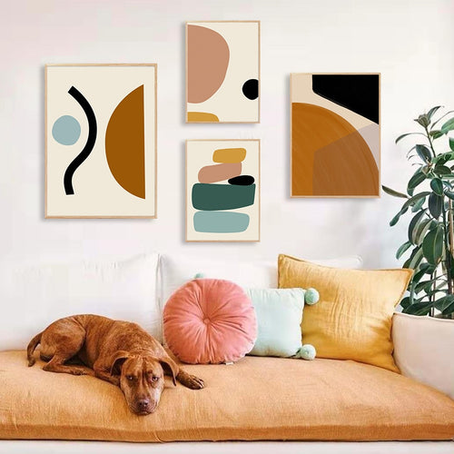 Geometric Graphic Painting