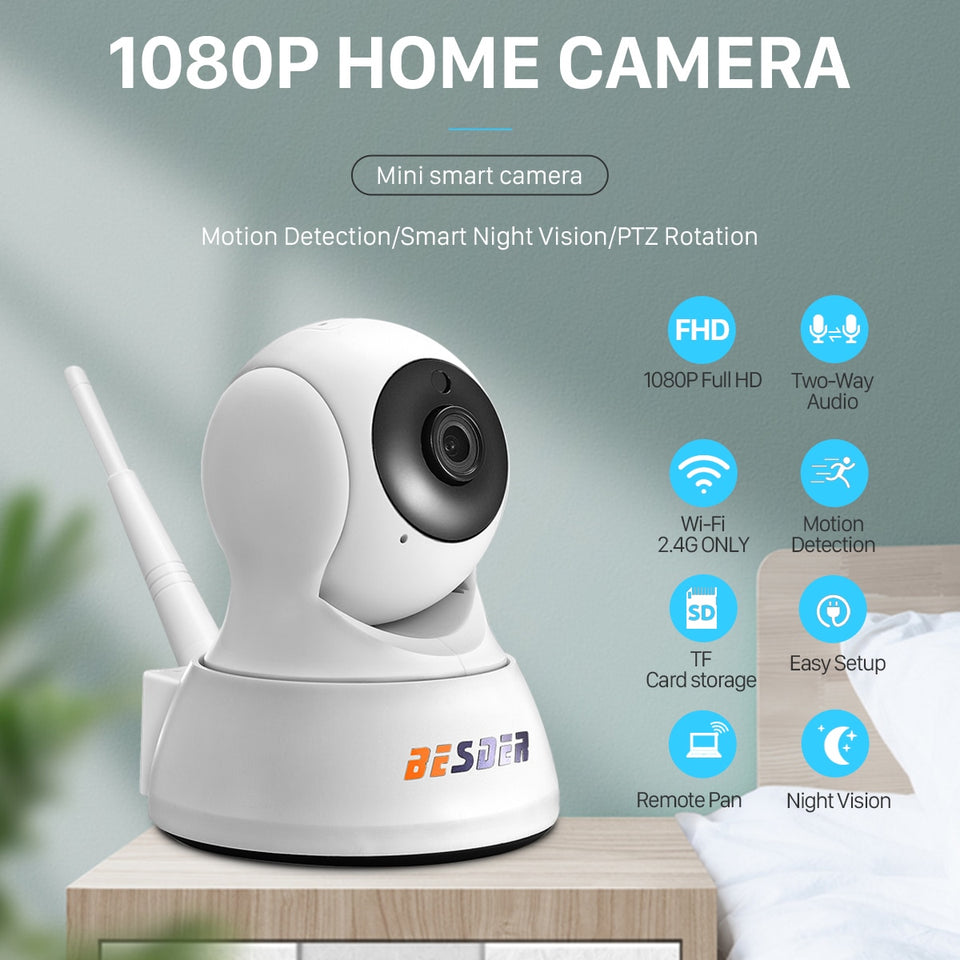 1080P Home Security IP Camera