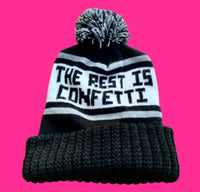 The Rest is Confetti Knit Winter Pom Pom Hat