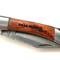 Sass Mouth Pocket Knife