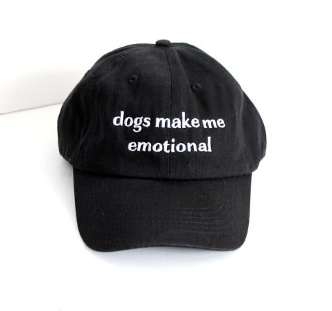 Dogs Make Me Emotional Dad Hat