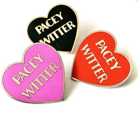 Pacey Witter Heart Pin
