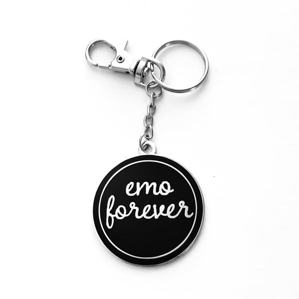 Emo Forever Keychain