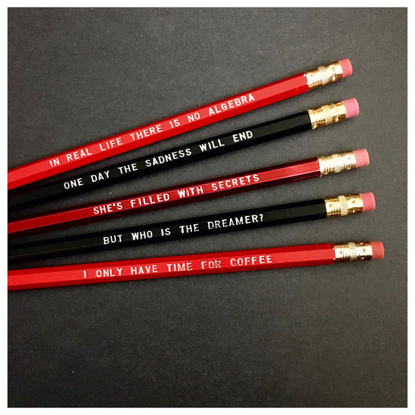 Twin Peaks Pencil Set