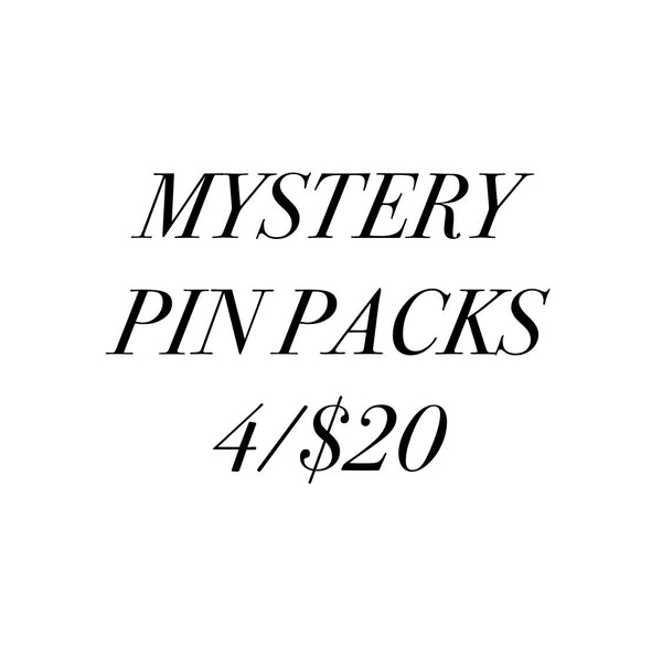 Mystery Pin Packs