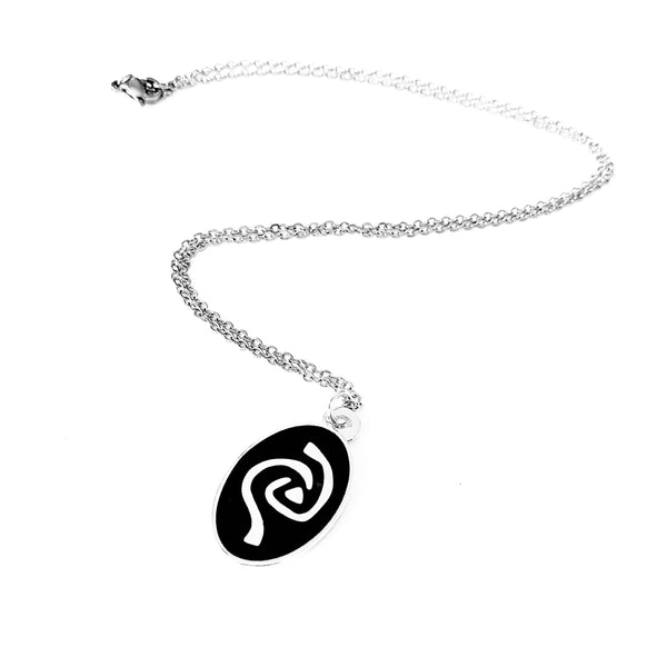 Roswell Antar Symbol Enamel Necklace