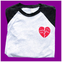 I love you it'll pass raglan shirt