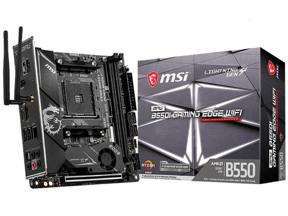 MSI MPG B550I Gaming EDGE WIFI AM4 Motherboard