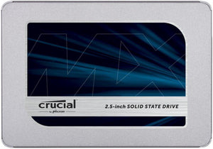 "Crucial Mx500 1TB, 2.5"" Internal SATA SSD"