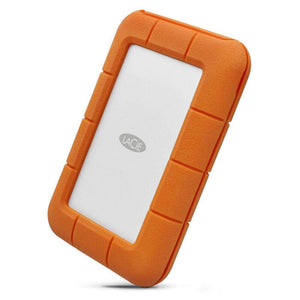 "LaCie Rugged Secure 2.5"" 4Ft Drop Resistant 2TB, Portable HDD, USB-C, STFR2000403"