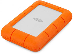 "LaCie Rugged Mini 2.5"" 5TB Drop Resistant Portable HDD, USB3.0, STJJ5000400"