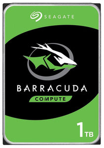 "Seagate Barracuda Desktop Internal HDD 3.5"" SATA Drive, 1TB, ST1000DM010"