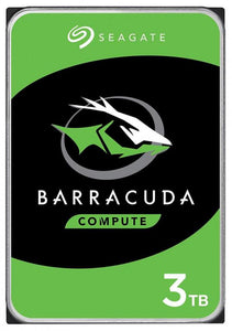 "Seagate Barracuda Desktop Internal HDD 3.5"" SATA Drive, 3TB, ST3000DM007"