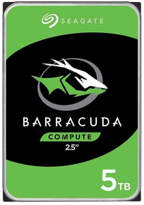 "Seagate Barracuda Internal HDD 2.5"" SATA Drive, 5TB, ST5000LM000"