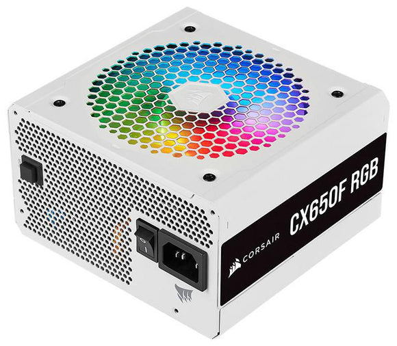 Corsair 650w CX550F RGB 80 Plus Bronze Fully Modular Power Supply