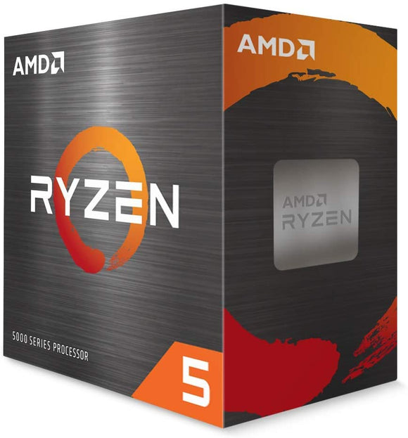 AMD Ryzen 5 5600X 6 Core/12 Threads 3.7/4.6GHz AM4 CPU Processor
