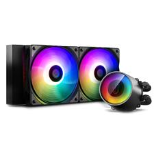 Deepcool GamerStorm Castle 240 RGB V2 CPU Liquid Cooler Anti-Leak