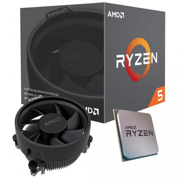 AMD Ryzen 5 3400G 4 Core AM4 CPU, 3.7GHz 4MB 65W w/Wraith Stealth Cooler Fan RX Vega Graphics Box