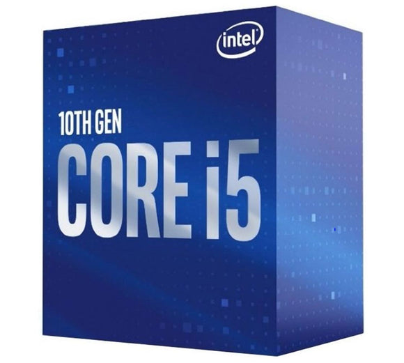 Intel Core i5-10400 CPU 2.9GHz (4.3GHz Turbo) LGA1200 10th Gen 6-Cores 12-Threads 12MB 65W