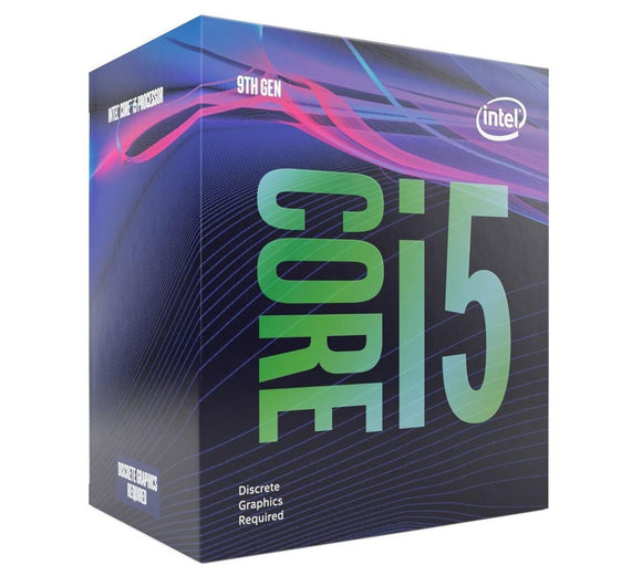 Intel Core i5-9500F CPU 3.0GHz (4.4GHz Turbo) LGA1151 9th Gen 6-Cores 6-Threads 9MB 65W