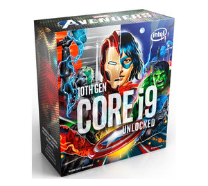 Intel Core i9-10850K Avengers CPU 3.6GHz (5.2GHz Turbo) LGA1200 10th Gen 10-Cores 20-Threads 20MB 95W UHD Graphic