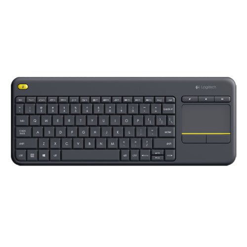 Logitech K400 Plus Wireless Keyboard with Touchpad & Entertainment Media Keys
