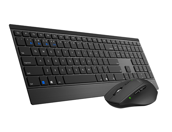 RAPOO 9500M Bluetooth & 2.4G Wireless Multi-mode Keyboard Mouse Combo