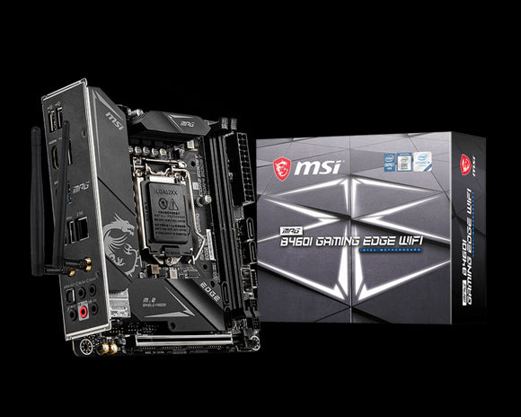 MSI MPG B460I GAMING EDGE WIFI Mini-ITX