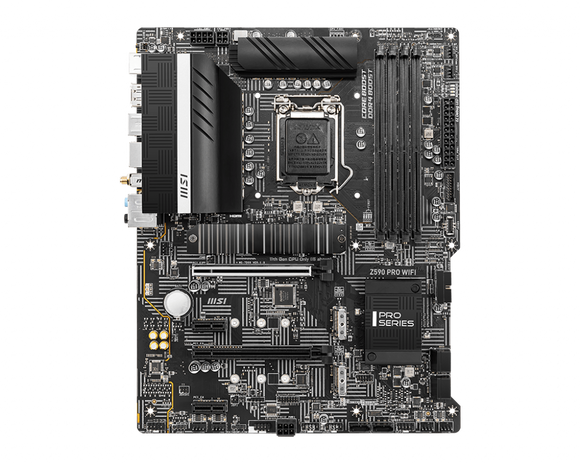 MSI MPG Z590 PRO WIFI Intel ATX Motherboard