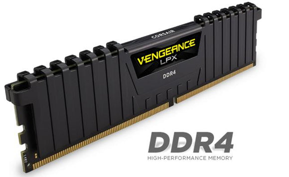 Corsair Vengeance LPX 1x 8GB  DDR4 2666MHz C16 Desktop Gaming Memory Black
