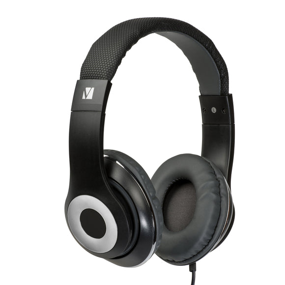 Verbatim Stereo Headphone Classic - Black, Over-Ear Design