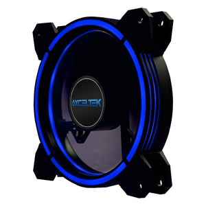 Axceltek F120mm Led Fan Blue, Red OR White