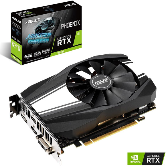 Asus RTX 2060 6GB GDDR6 Video Card