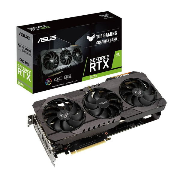 Asus NVIDIA GeForce RTX 3070 TUF Gaming OC 8GB Video Card TUF-RTX3070-O8G-GAMING Video Card