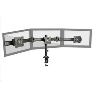 Brateck Triple Monitor Arm Mounts with Desk Clamp VESA 75/100mm Up to 27""